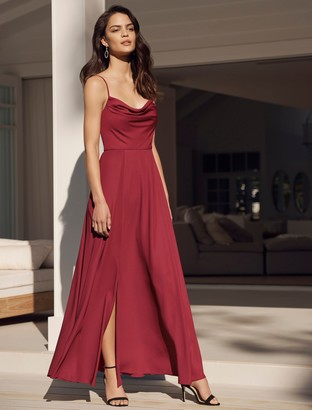 Ever New Crista Cowl Neck Maxi Dress