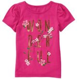 Crazy 8 Sparkle Wonderful Tee