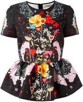 Piccione Piccione Piccione.Piccione floral print blouse