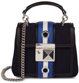 Sonia Rykiel Navy Bi-Colour Strap Mini Bag