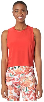 Onzie Tempo Tank (Rose) Women's Clothing