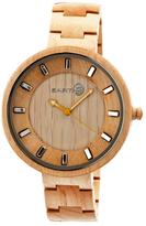 Earth Wood Branch Bracelet Watch, 44mm wide