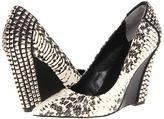 Rachel Roy Abby (Black/White Snake) - Footwear