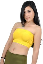 Soho Girls Emma's Mode Junior Bandeau Strapless Tube Top 115-NPK-PNK-MNT-PYL-WHT-NUD