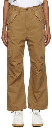 Nanamica Tan Cordura Cargo Trousers