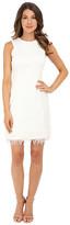 rsvp Anna Feather Trim Dress