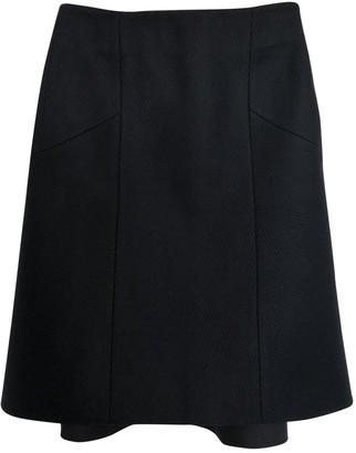 Cos Navy Wool Skirt for Women
