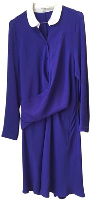 Carven Purple Polyester Dresses