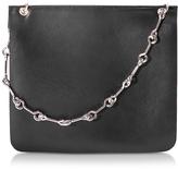 Corto Moltedo Jesse Black Nappa Leather Shoulder Bag
