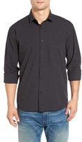 Billy Reid Men's John T Standard Fit Dot Sport Shirt