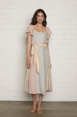 Rachel Pally Sibil Dress - Ombre Check Voile