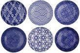 Design Studio Tokyo Nippon Blue Dipping Dish Gift Set - Set Of 6