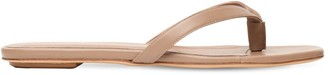 Gia X Pernille Teisbaek 10mm Leather Thong Sandals