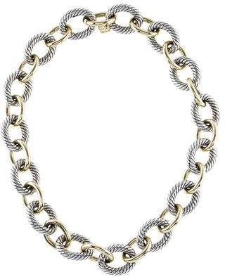 David Yurman Extra-Large Oval Link Necklace