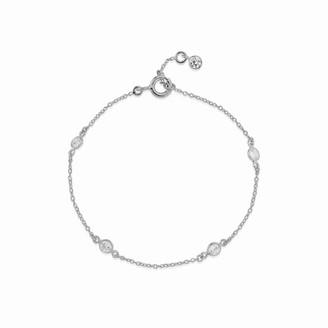 Auree Jewellery Sofia Sterling Silver & Cubic Zirconia Bracelet