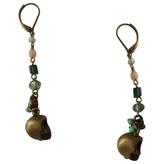 Isabel Marant Gold Metal Earrings
