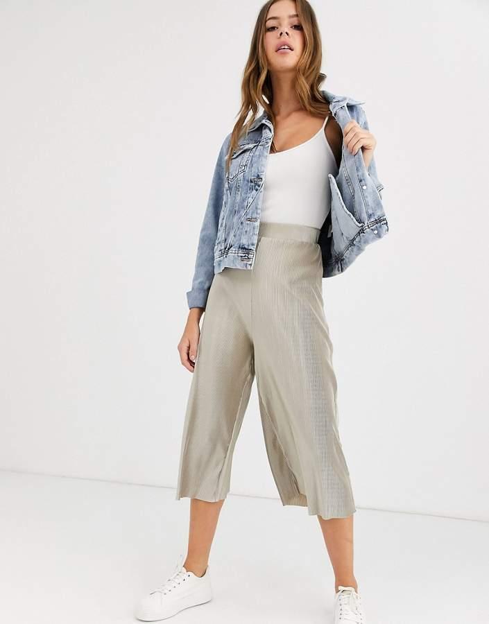 Love plisse culottes