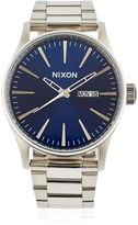 Nixon Sentry Ss Watch With Blue Dial