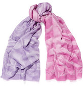 Just Cavalli Printed Modal-Blend Scarf