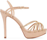 Schutz embellished platform sandals - women - Leather - 36