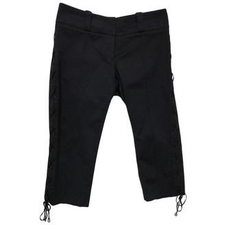 Elisabetta Franchi Black Cotton Shorts