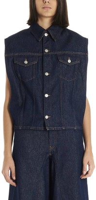 MM6 MAISON MARGIELA Removable Sleeves Denim Jacket