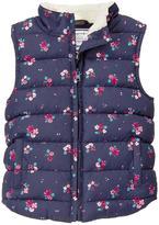 Gymboree Floral Puffer Vest