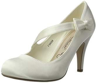 Ajvani Womens Ladies Evening Wedding Prom Party high Heel Classic Pumps Size 4 37