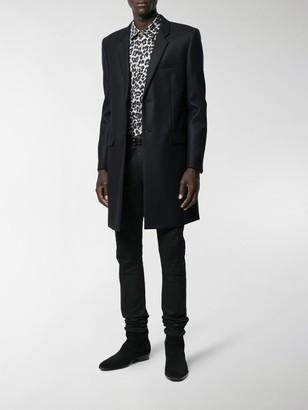 Saint Laurent Long-Line Blazer Jacket