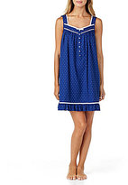 Eileen West Dotted Ruffled Chemise