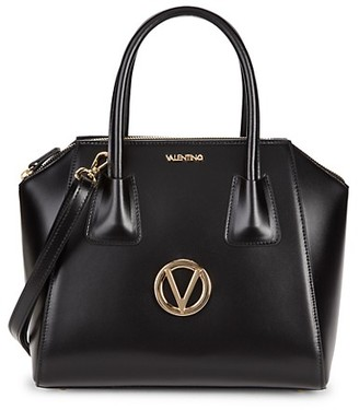 Valentino By Mario Valentino Minimi Structured Leather Satchel