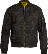 Marcelo Burlon County of Milan Pissis Alpha MA-1 bomber jacket