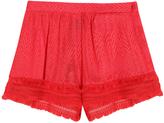 Missoni Fringed Zig Zag Shorts