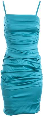 Dolce & Gabbana \N Turquoise Silk Dresses