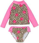 Little Me 2-Pc. Animal-Print Rashguard Swimsuit Baby Girls (0-24 months)