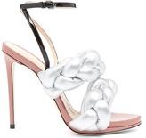 Marco De Vincenzo Plaited leather sandals