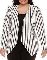 Bisou Bisou Long Sleeve Blazer-Plus