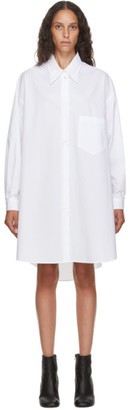 MM6 MAISON MARGIELA White Poplin Oversize Dress