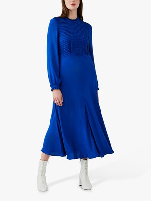 Ghost Una Tea Dress, Cobalt Blue