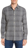 Grayers Douglas Regular Fit Plaid Double Woven Sport Shirt