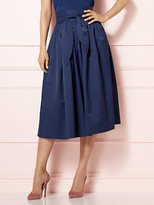 New York & Co. Eva Mendes Collection - Mari Tie-Waist Midi Skirt