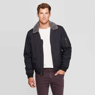 Goodfellow & Co Men's Midweight Sherpa Bomber Jacket - Goodfellow & Co Navy
