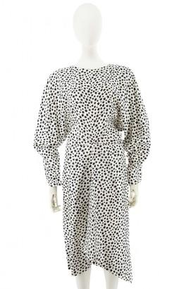 Saint Laurent White Silk Dresses