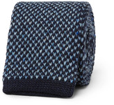 Dunhill - 6cm Knitted Wool-blend Tie
