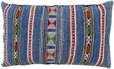 One Kings Lane Vintage Blue Striped Moroccan Berber Pillow