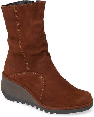 Fly London Nort Wedge Boot
