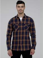 M&Co Brushed checked shirt