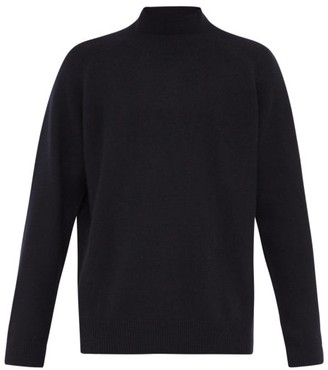 Raey Loose-fit Funnel-neck Cashmere Sweater - Navy