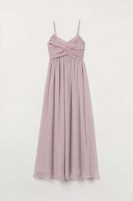 H&M Draped long dress