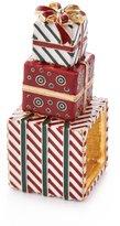 Kim Seybert Wrapped Presents Napkin Rings, Set of 4